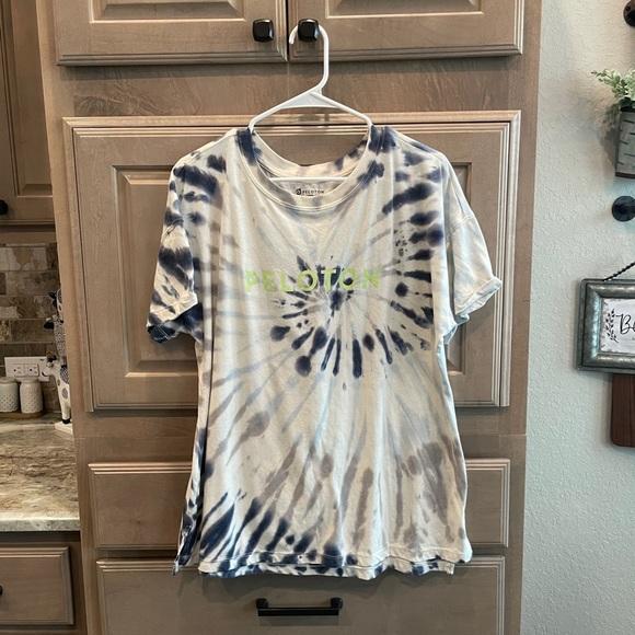 Peloton tie-dye t-shirt